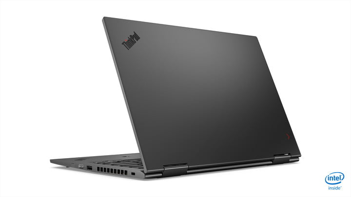 lenovo updated thinkpad x1 carbon yoga ces 2019 08 hero rear facing left