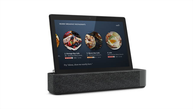lenovo ces 2019 announcements 09 smart tab m10 with dock hero docked local search