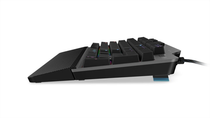 lenovo announce new legion gaming peripherals ces 2019 11 k500 side angle with foot stand
