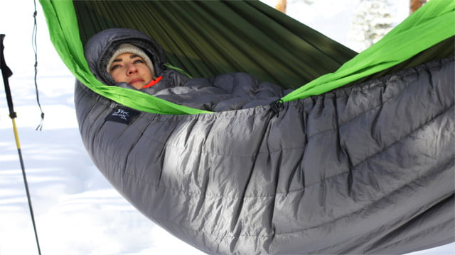 inferno insulated hammock kickstarter 16 snuggled up