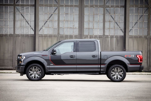 2015 F-150 Lariat Special Edition side