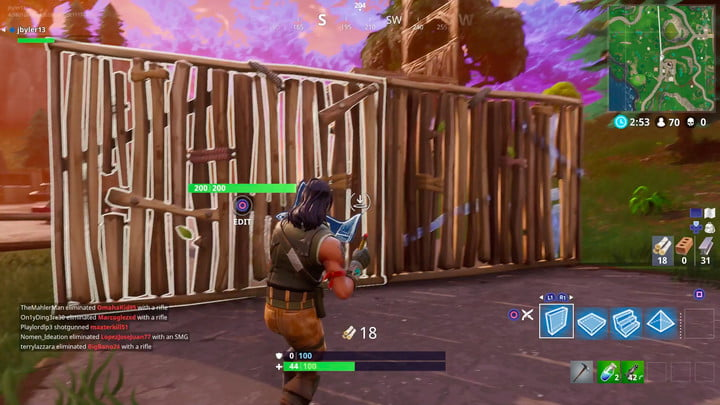 fortnite battle royale building tips and tricks