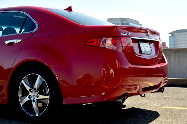 2012 acura tsx special edition accura exterior back left angle