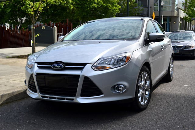 2012 ford focus sel review front angle park