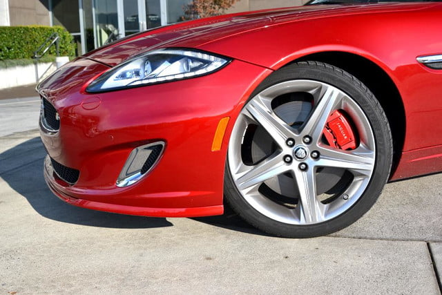 2012 jaguar xkr review front left wheel