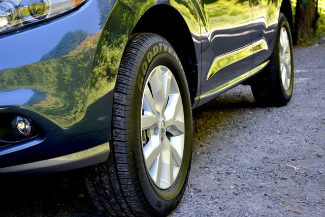 2012 nissan murano sl awd crossover review exterior tires