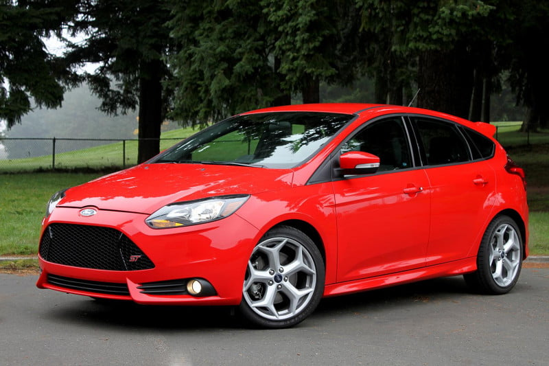 2013 ford focus st left side angle