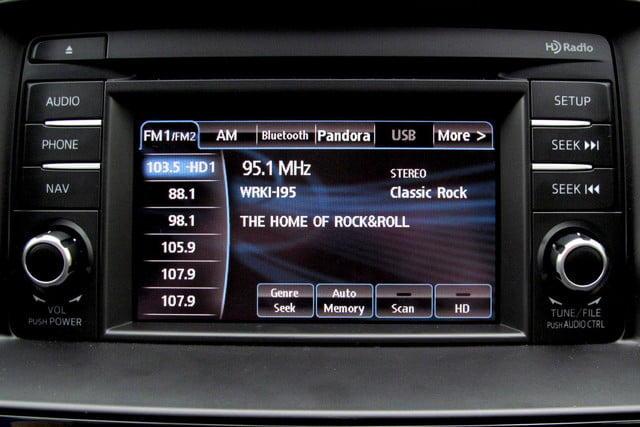 2014 mazda6 i touring review center screen radio