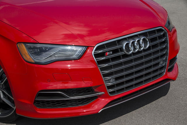 2015 Audi S3 front section