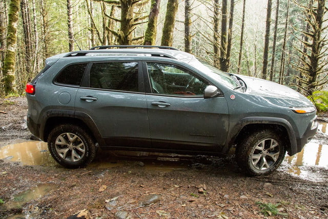 2015 Jeep Cherokee Trailhawk right side