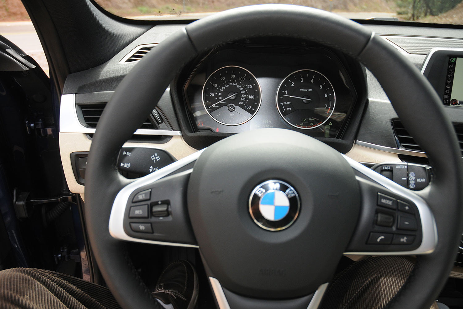 2016 bmw x1 first drive review new turbo engine updated. Black Bedroom Furniture Sets. Home Design Ideas