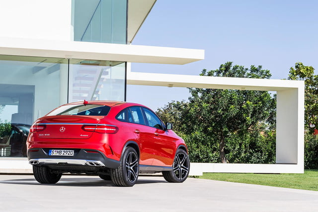 2016 Mercedes GLE Coupe