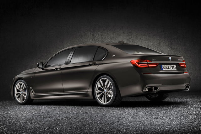 bmw is returning to its m car roots and ushering iperformance into the spotlight 2017 m760li xdrive 0016