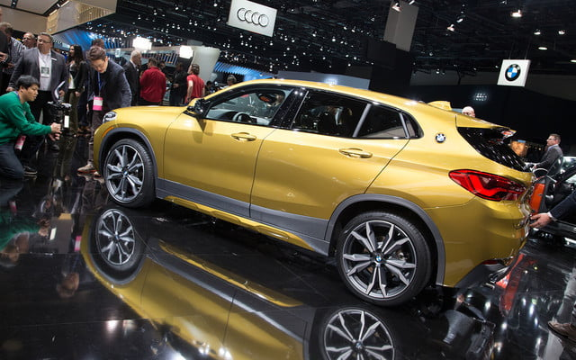 the 2018 bmw x2 takes its official worldly bow in detroit  12