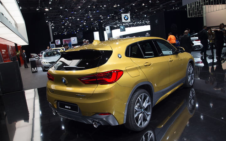 the 2018 bmw x2 takes its official worldly bow in detroit  3