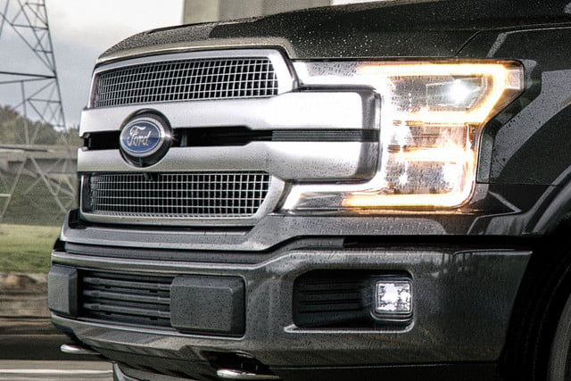 2018 Ford F-150 Platinum Grille