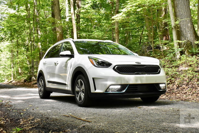 2018 kia niro phev ex premium review digital trends. Black Bedroom Furniture Sets. Home Design Ideas
