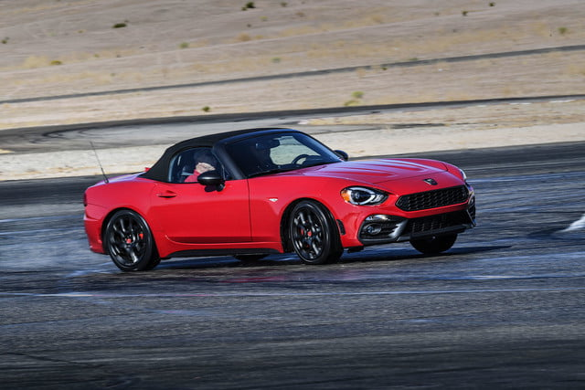 2019 Fiat 124 Spider Abarth First Drive Review Digital Trends