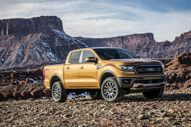 Ford Debuts  Ranger And Edge St