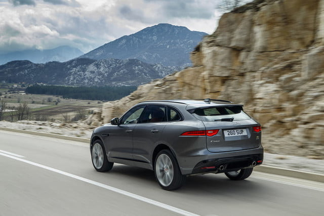 2019 Jaguar F Pace Gets More Driving Aids And New Infotainment