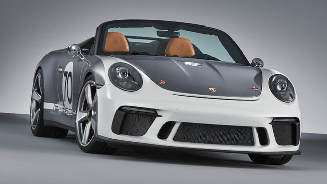 500hp porsche 911 speedster coming in 2019 as limited edition model 3884626 concept 2018 ag