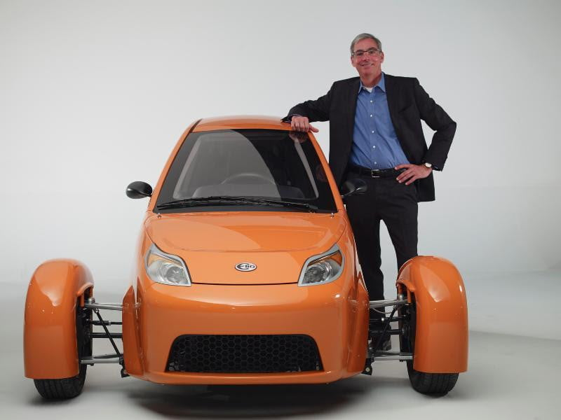 With Checks Cashed Elios Three Wheeled 84 Mpg Commuter