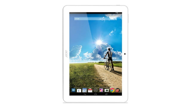 embargo 93 620am et acer goes tablet crazy ifa 2014 iconia tab 8 w 10 one upright white press image