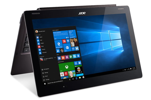 acer computing announce ces 2016 switch 12 s sw7 272 win10 tent mode left