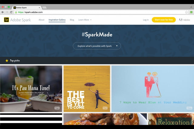 adobe launches spark design apps web 1