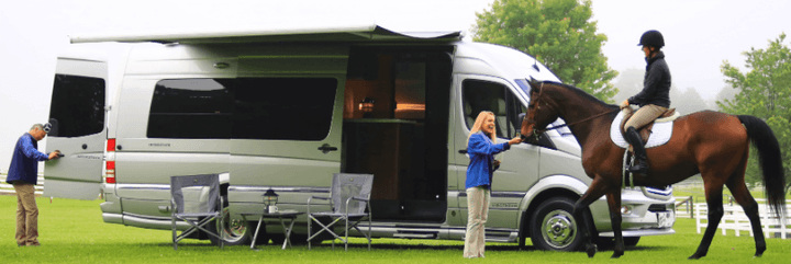 airstream interstate grand tour ext with horse