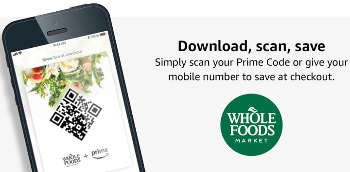 amazon prime whole foods market discounts discount app info