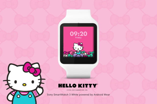 android wear 17 new watch faces androidwear sanrio 1000x666