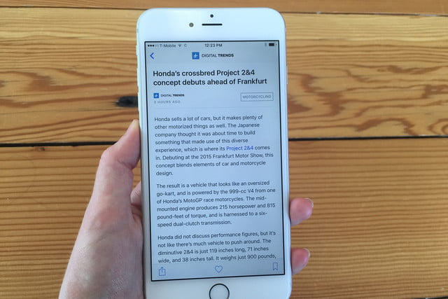 apple news review app ios 9 8