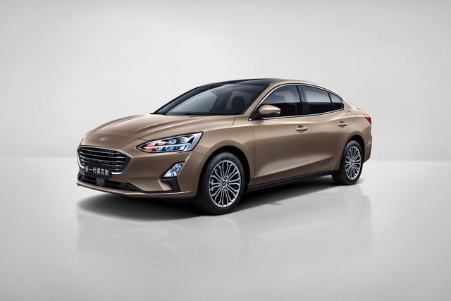 Next-generation Ford Focus (Chinese version)