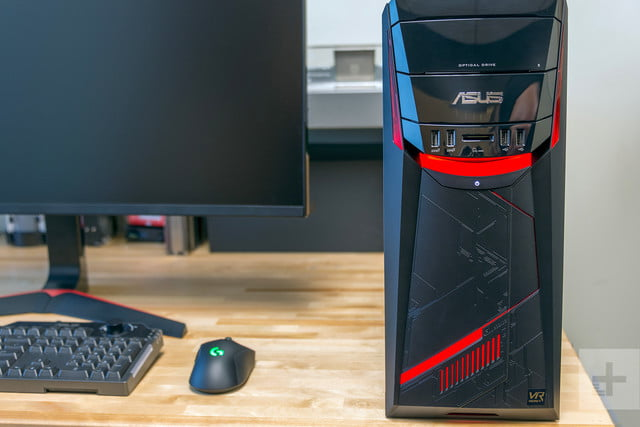 Asus G11DF review front profile