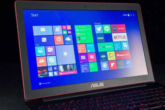 ASUS RoG G501JW DS71 front screen