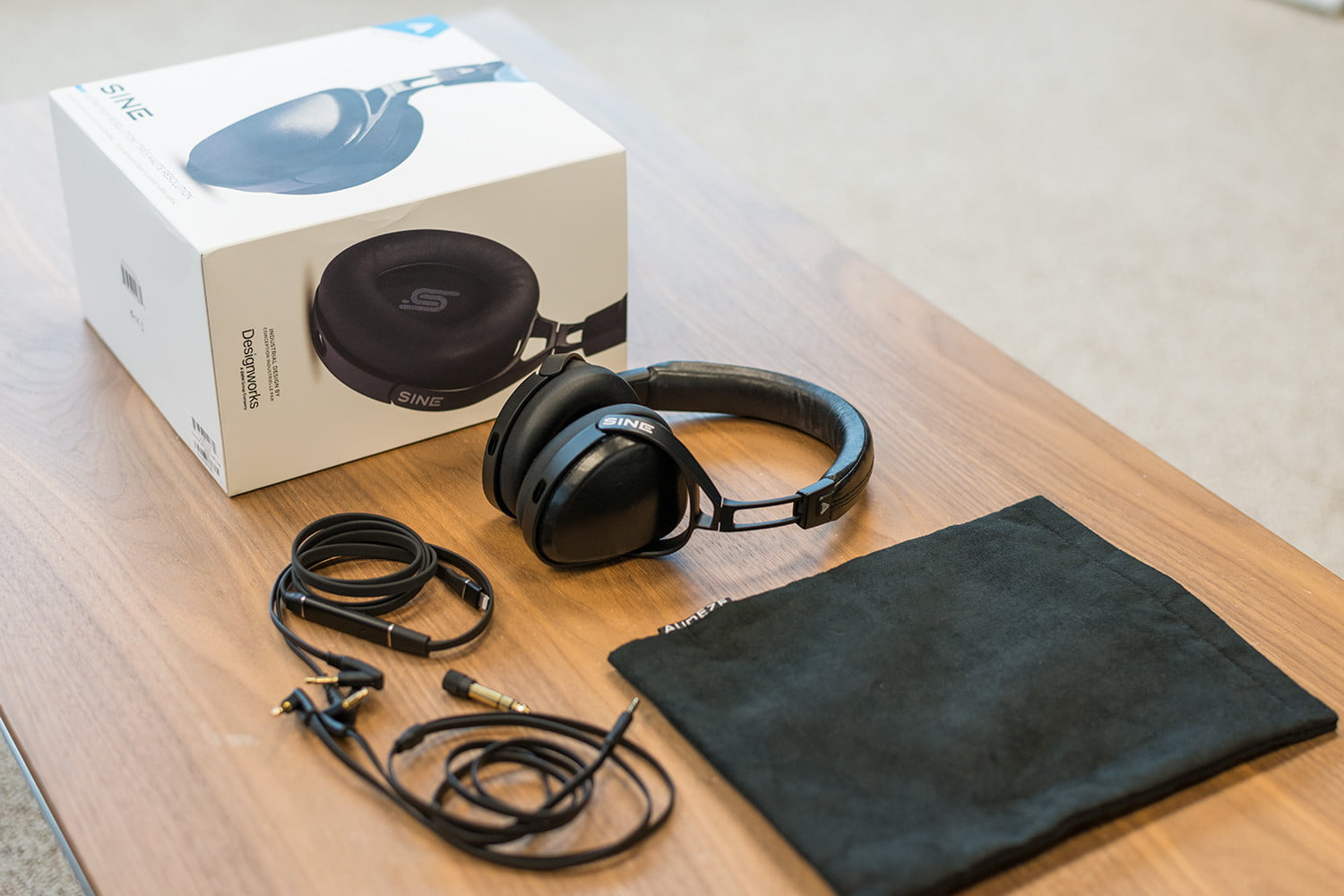 c62c5a669ce Audeze Sine. Those who opt to add the $50 Lightning cable (dubbed the Cipher),  will find it packed in a separate box, identical to its sibling save for a  ...