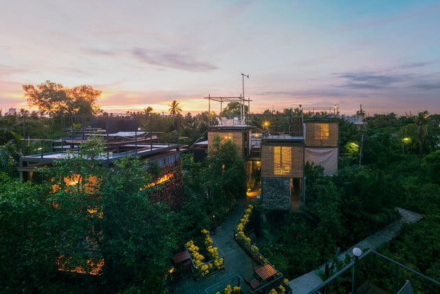the bangkok tree house hotel lets guests sleep under stars resort 19