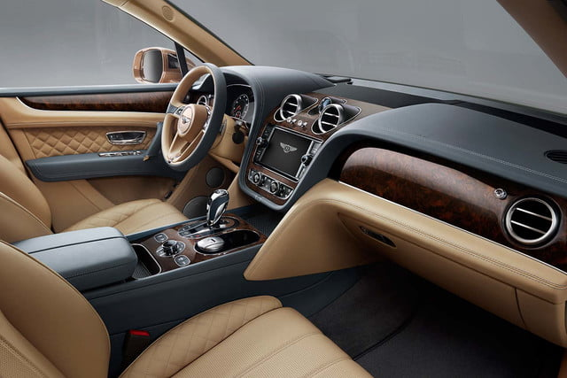 bentley says its bentayga suv can do it all but will customers bite  front cabin 2 a