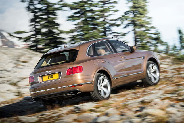 bentley says its bentayga suv can do it all but will customers bite  off road rear three quarter 1