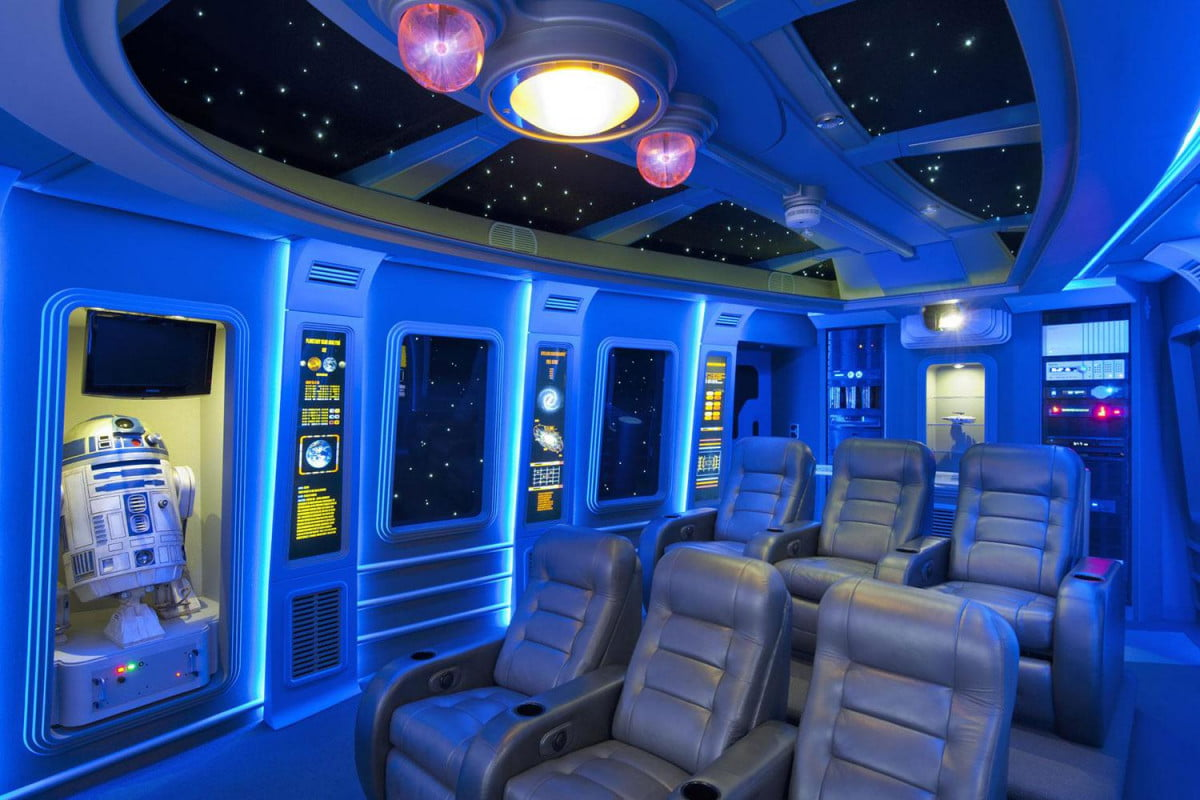 Pics Of The Best Star Wars Inspired Home Theaters