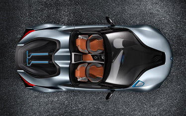 Bmw I8 Concept Spyder Will Drop Its Top At The New York Auto