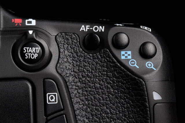 Canon EOS 70D back buttons