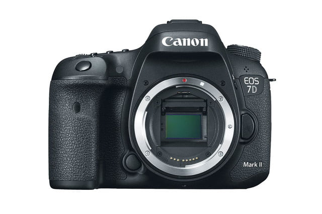 hands on review canon eos 7d mark ii body front press image