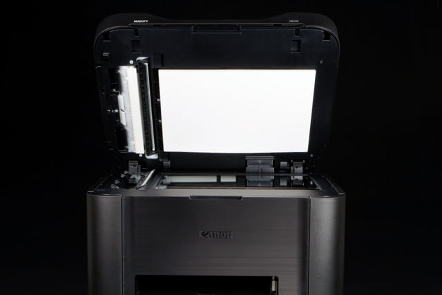 Canon Maxify printer scanner bed open