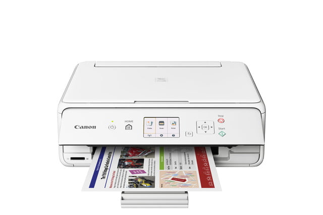 canon pixma ts all in ones ts5020 white cutout
