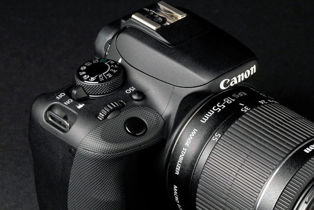 Canon Rebel SL1 top section
