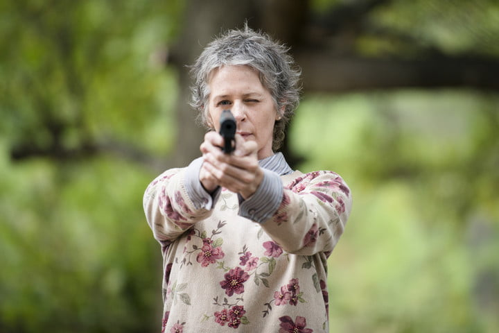 Carol Peletier  The Walking Dead - Melissa McBride | TVs Most Badass Moms