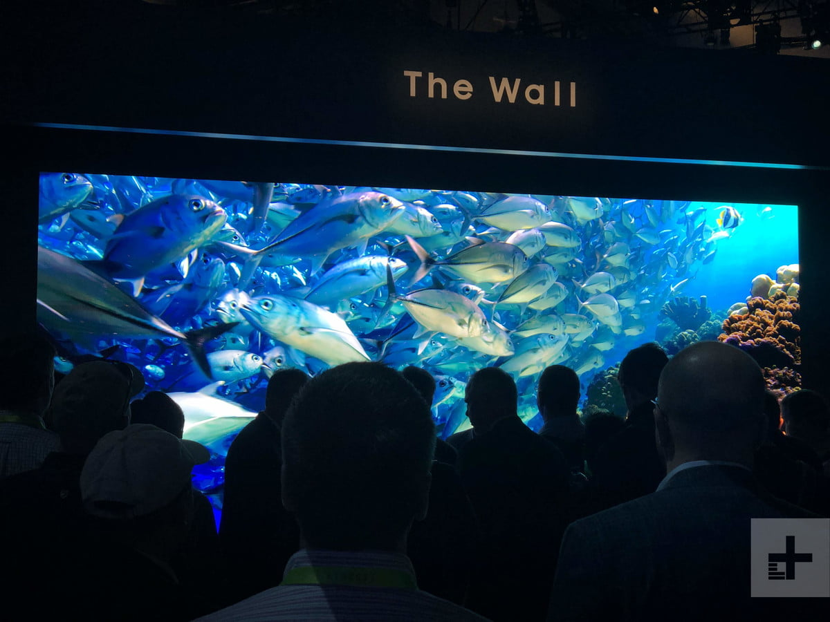 CES 2019 Booth Samsung