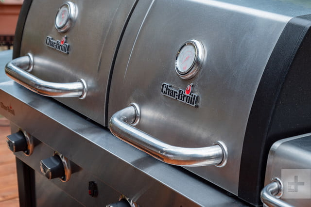 Char-Broil Commercial Tru Infrared Double Header grill
